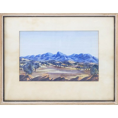 Benjamin Landara (1921-1985) Mount Conway Watercolour