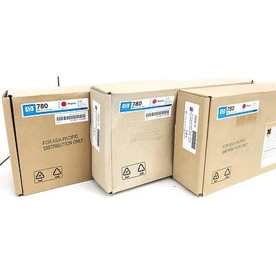Hp DesignJet 8000 Series Cartridges (CB287A) - Brand New - Set of 3