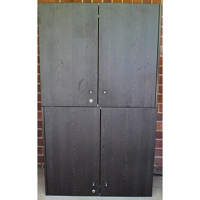Wall Mount Cupboards - Lot of Two