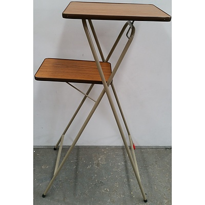 Two Tier Folding Table