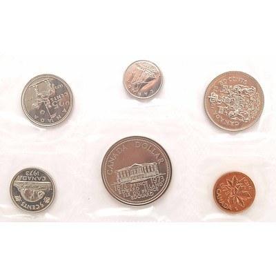 Canada Royal Canadian Mint Proof-like Mint Set 1973