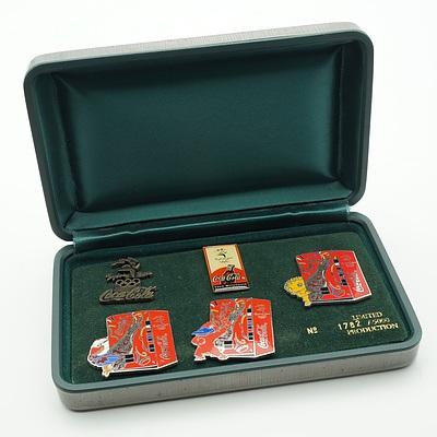 Limited Edition Coca Cola Sydney 2000 Olympics Badges 1782/5000