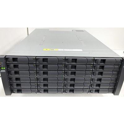 NetApp DS4243 NAJ-0801 Storage Array 24 Bay Hard Drive Array with 14.4TB of Storage