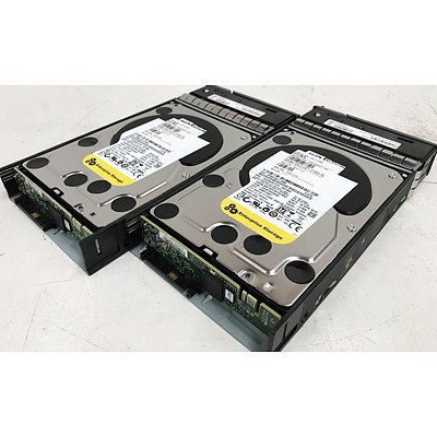 Western Digital WD2003FYYS-05T9B0 2TB SAS Hard Drives - Lot of 2