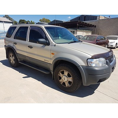 9/2002 Ford Escape Limited BA 4d Wagon Beige 3.0L