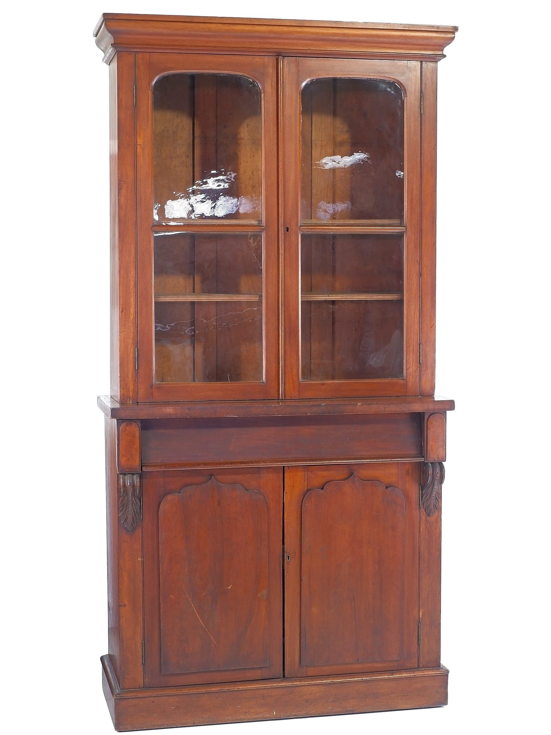 'Australian Cedar Bookcase Circa 1880'