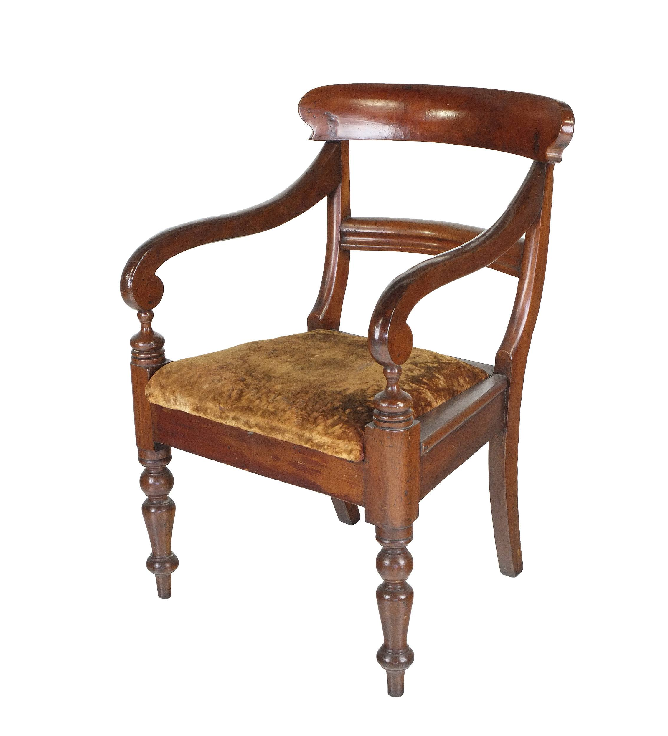 'Australian Cedar Carver Chair, Third Quarter of the 19th Century'