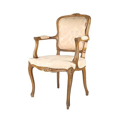 Vintage French Louis Style Armchair