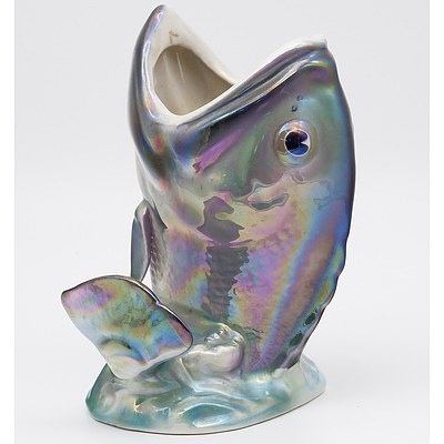 Lustre Glazed Wembley Ware Dhufish Vase