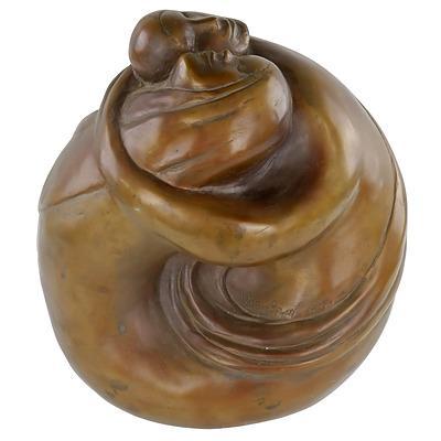 Guy Boyd (1923-1988) Embracing Figures - Lovers Metamorphosis, Bronze Edition 6/9