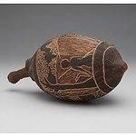 Aboriginal Kimberley Region Carved Boab Nut