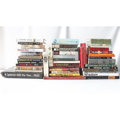 Bulk Lot of Books Including Shakespeare & Peter Fitzsimons