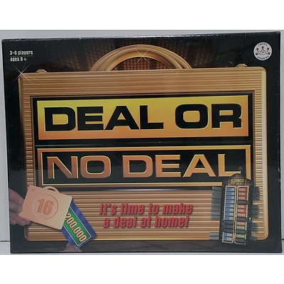 Deal Or No Deal Board Game - Brand New