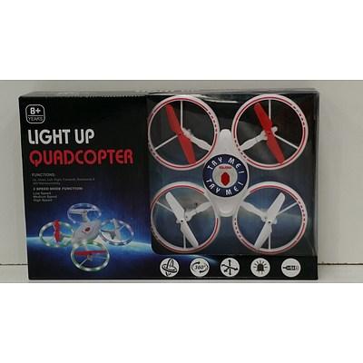 Light Up Quadcopter - New