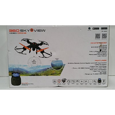 360 Sky View Video Drone