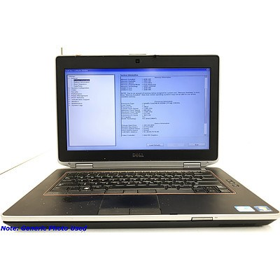Dell Latitude E6420 14.1 Inch Widescreen Core i5 -2520M Mobile 2.5GHz Laptop