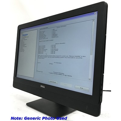 Dell Optiplex 9030 23 inch Core i5 -4950S 3.0GHz AIO Computer