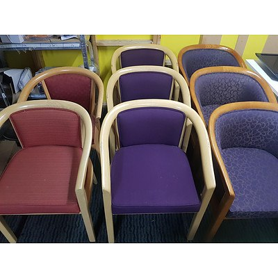 Assorted Office Armchairs - Lot of 8