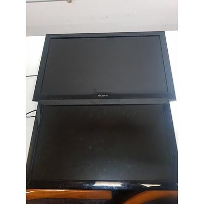 Sony & Digitalview Display Screens - Lot of 2