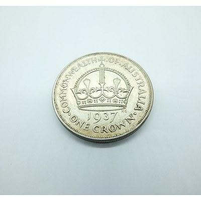 Commonwealth of Australia 1937 One Crown