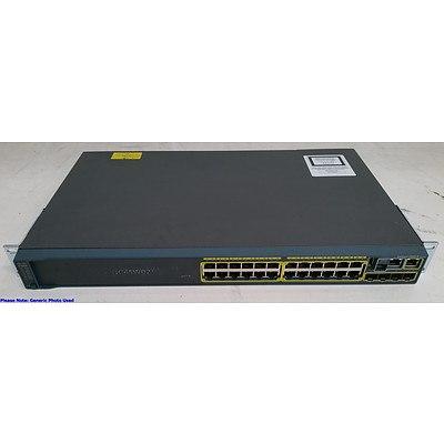 Cisco Catalyst 2960-S Series 24-Port Gigabit Managed Switch