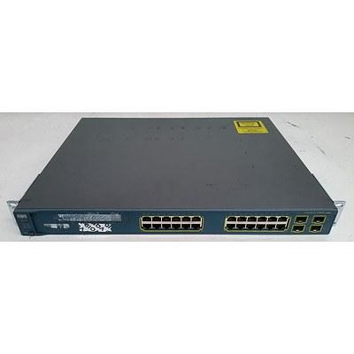 Cisco Catalyst 3560G Series 24-Port Gigabit Managed Switch