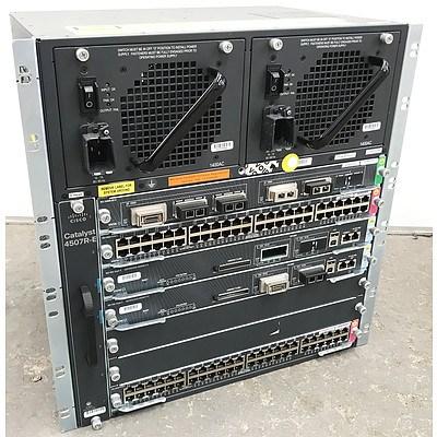 Cisco WS-C4507R-E Modular Switch