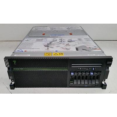 IBM Power 740 (Power7) 4-Core CPU Express 4RU Server