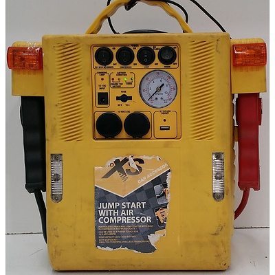XS Jump Starter with Air Compressor