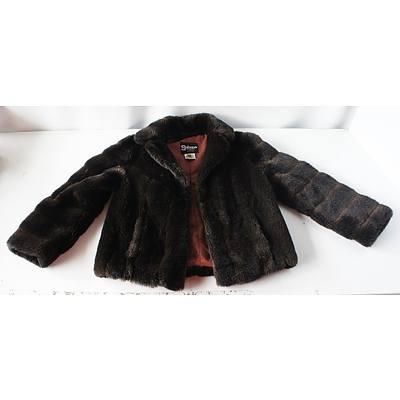 Two Faux Fur Jackets