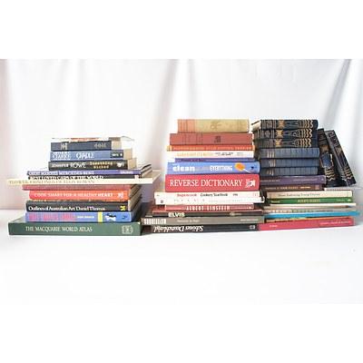 Bulk Lot of Books Including Elvis, Princess Dianna & Albert Einstein