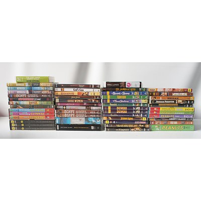 Lot of Assorted CDs and PC Roms Including The Jungle Book, Aladin, Star Wars: Battlefront II, and more