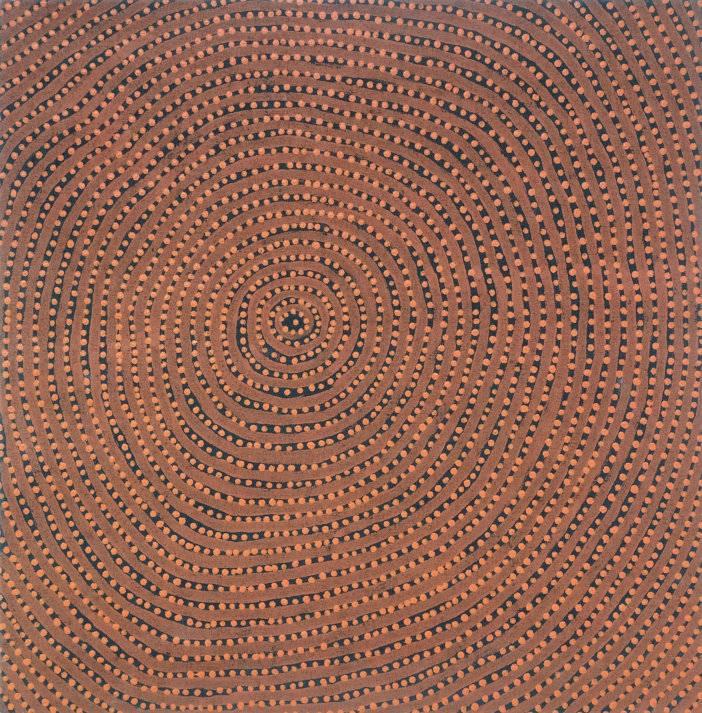 'Brenda Napaltjarri Womens Dreaming Acrylic on Linen'