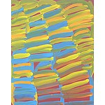 Minnie Pwerle (1922-2006) Awelye Atnwergerrp Acrylic on Canvas