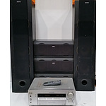 Sony Home Theatre Amplifier and Speakers
