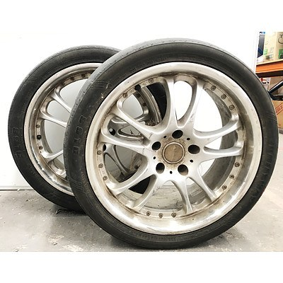 AMG Techart 18inch Alloy Rims - Lot of 2