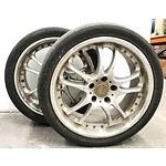 AMG Techart 18inch Alloy Rims - Lot of 2