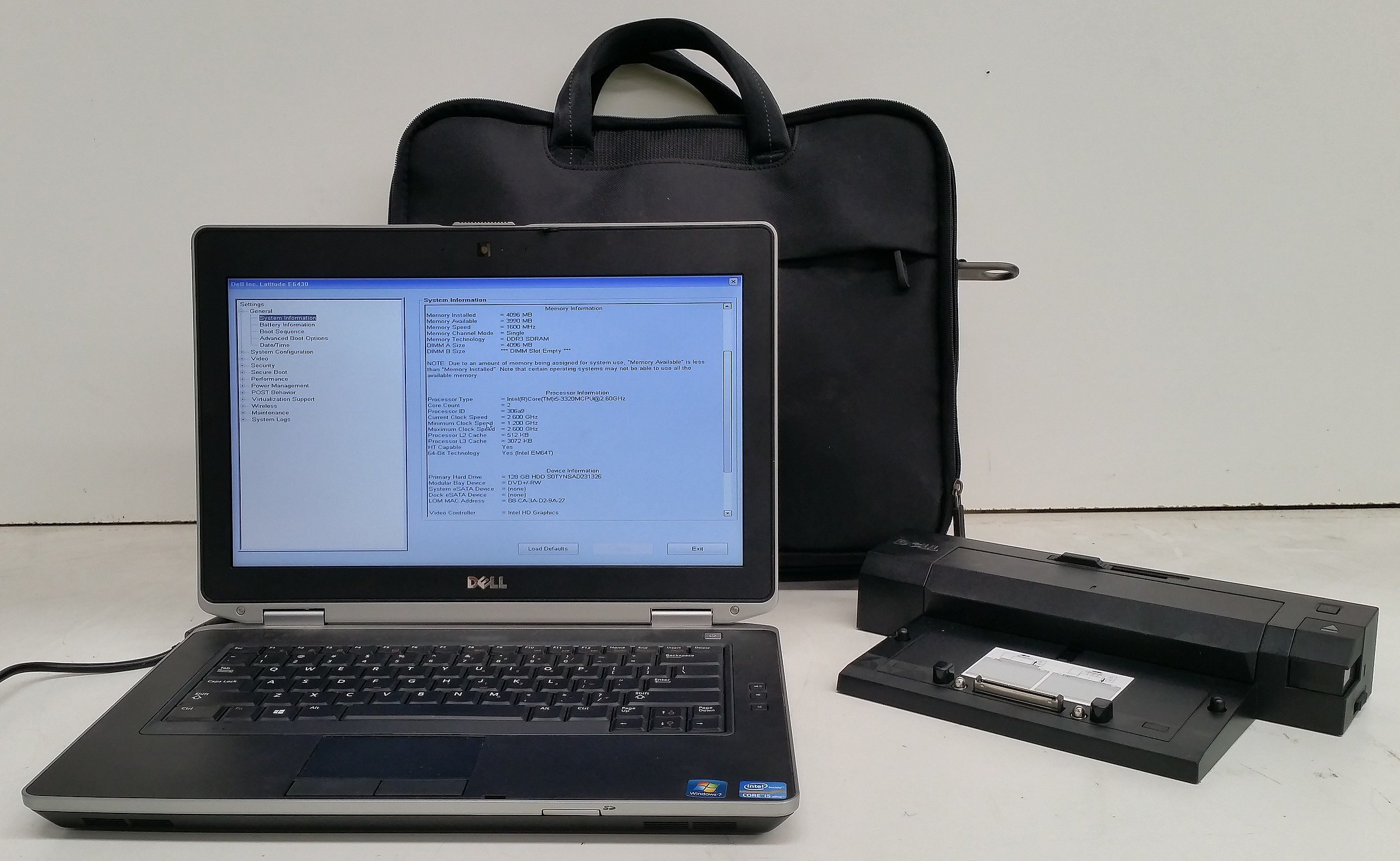 Dell Latitude E6430 14-Inch Core i5 (3320M) 2 60GHz Laptop