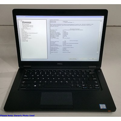 Dell Latitude 5480 14-Inch Core i5 (6200U) 2.30GHz Laptop