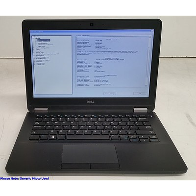 Dell Latitude E7270 12.5-Inch Core i5 (6200U) 2.30GHz Laptop