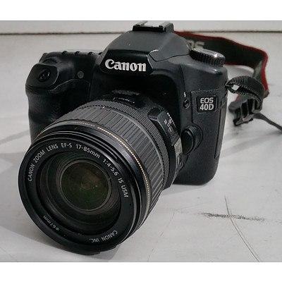 Canon EOS 40D Digital SLR Camera