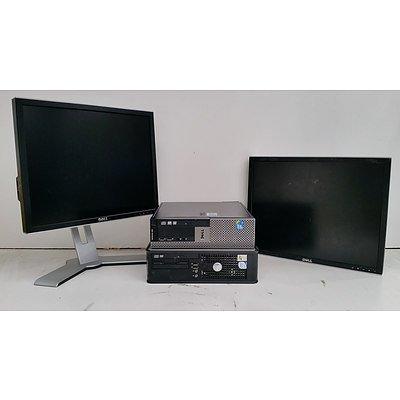 Bulk Lot of Assorted Dell IT Equipment - Computers & Monitors