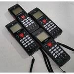 Denso BHT-900B Series (BHT-904B) Handheld Scanner - Lot of Four