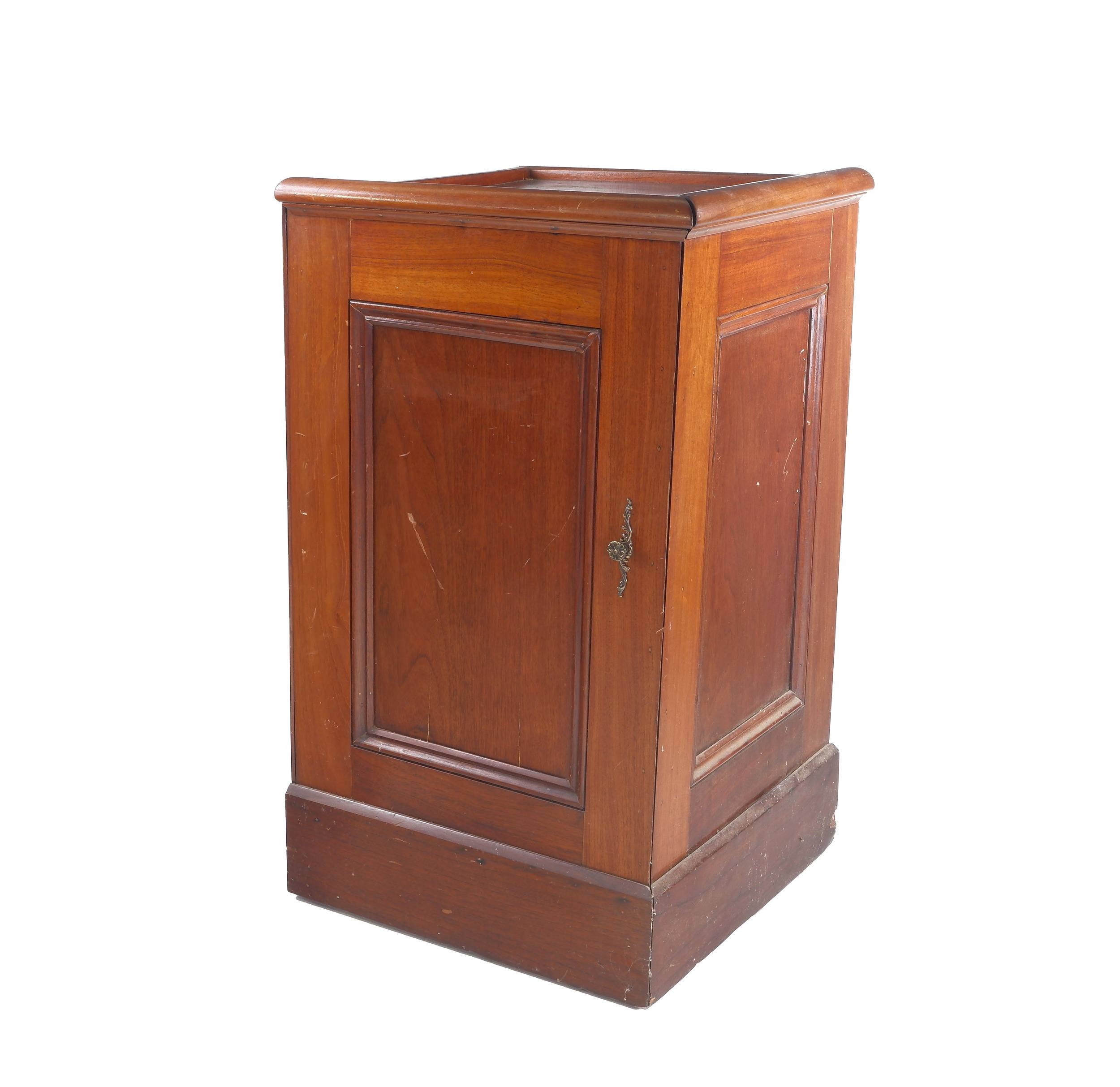 'Antique Australian Cedar Witness Box ex Tumut Courthouse'