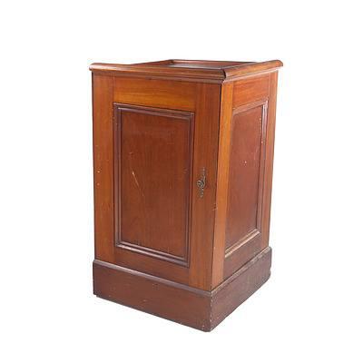 Antique Australian Cedar Witness Box ex Tumut Courthouse
