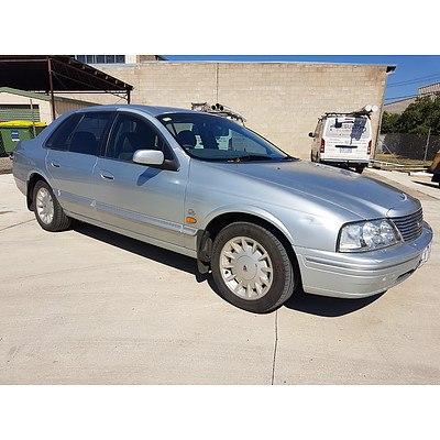 5/1999 Ford Fairlane GHIA AU 4d Sedan Silver 4.0L