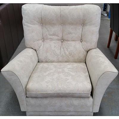 Upholstered Single Armchair