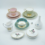 Group of English China Including Wedgwood, Spode, Paragon and More