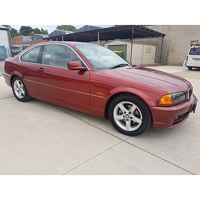 5/2000 BMW 323Ci E46 2d Coupe Red 2.5L