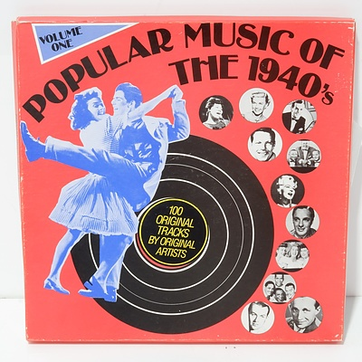 Popular Music of the 1940's Volume One Vinyls